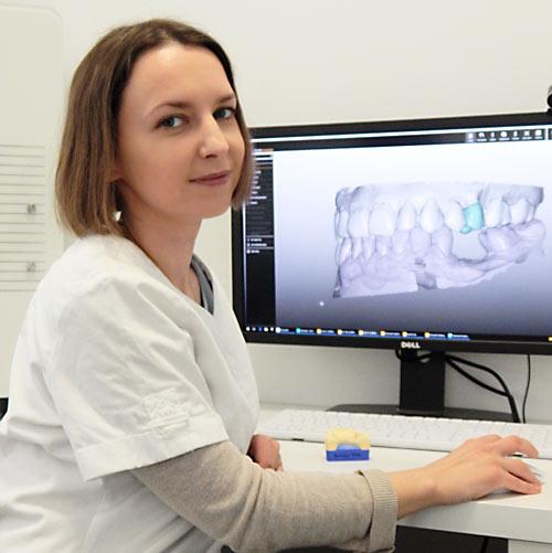 Jowita Dróżdż - technik dentystyczny - lekarz dentysta, stomatolog - Elstom Zamość